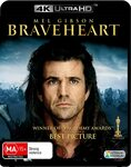 Braveheart 4K Blu-ray $8.95 + Delivery ($0 with Prime/ $39 Spend) @ Amazon AU