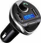 Bluetooth FM Transmitter for Car, Wireless FM Radio Transmitter $17.24+Delivery @ AMIR&ORIA Direct via Amazon AU