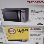 [VIC] Thomson Microwave (Tm-Mw328) $49.99 (Was $99.99) in-Store @ Coles (Northcote)
