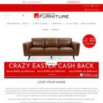 [VIC, NSW, QLD] Spend $1000 & Get $100 Back, Spend $2000 & Get $250 Back, Spend $3000 & Get $500 Back @ Johnny's Furniture