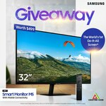 """Win a Samsung M5 32"""" Full HD Smart Monitor Worth $499 from Centre Com"""