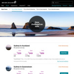 AU to NZ Return Flights from $262 (May-June 2021) @ Air New Zealand