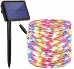 LED Solar Powered Solar 22m String Lights Outdoor Multicolored $14.75 + Delivery ($0 Prime/ $39 Spend) @ Findyouled Amazon AU