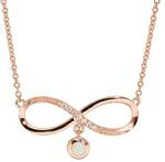 925 Sterling Silver Solid Opal Infinity Necklace $124.50 (Save $124.50) + $10 Delivery @ Wellington Jeweller