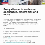 Access to The GoodGuys Commercial Shopping Portal @ Rest Super Rewards
