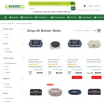 Up to 55% off Selected Dog Beds (Kazoo Gumnut Plush Navy Winter Bed $49.99) + Free Metro Shipping Over $49 @ Budget Pet Products