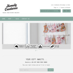 80% off Sitewide (Excl. Defect Items) + Free Gift with Every Purchase + Delivery ($0 with $49) @ Homely Creatures