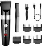 Burnnove Surker Cordless Hair Trimmer Kit $19.99 + Delivery ($0 with Prime/ $39 Spend) @ YUNHUAA via Amazon AU