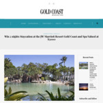 Win 2 Nights Staycation at The JW Marriott Resort Gold Coast and Spa (Valued at $3000) from Gold Coast Panache