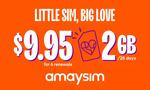 Six 28-Day Renewals of amaysim 2GB/28 Days Mobile Plan $6.97 (+15% Cashback via ShopBack) @ Groupon