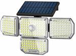 BlitzWolf BW-OLT6 4 Head Solar Sensor Wall Light US$24.99 (~A$34.08) Delivered @ Banggood