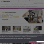 20% off Kenwood - Chef XL Titanium KVL8300S Food Mixer $799.20 Delivered @ Kenwood