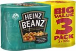 Heinz Baked Beans 3x 300g $3 ($2.70 S&S, Minimum Qty 3) + Delivery ($0 with Prime/ $39 Spend) @ Amazon AU