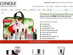 Clinique Online $138 Gift Pack with Purchase of $80 or More and $10 Postage