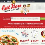 EatNow - $10 off Your Takeaway Order Using PayPal. First Time PayPal User Only. Ends Tonight