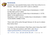 5 Golden Keys for Borderlands 2 (Use These inside Game to Unlock Special Loot)