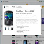 BlackBerry Curve 9320- Prepaid from Telstra- $99 (Pricedrop from $149)