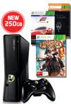 250GB Xbox 360 Console + BioShock Infinite +Forza 4+Skyrim, All for $298 @ EB Games