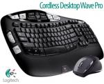 Logitech Cordless Desktop Wave Pro for $69.80 from COTD