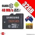 Samsung Micro SDHC 32GB Plus UHS-1 Class 10 48MB/s $24.95 + $1 Shipping