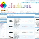 Only $18 Compatible Colour Toner CE320A for HP Printer Free Delivery on ozTonerink.com.au