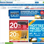 Home Entertainment 'MEGA SALE' Now on at Harvey Norman