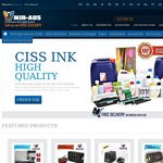 20% off All Ink Supply System @ MIR-AUS CISS, Ink Supply System for Epson, Canon, HP and Brother
