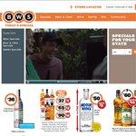 BWS - 3 Spirits Bottles 700ml for $90