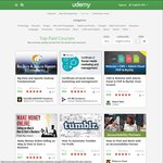 65% off on Almost Any Course with Udemy - EXCLUSIVE to Spending Hacker