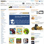 Servers Ultimate Pro Amazon UK and Aus App Store Android App of The Day, Free