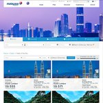 Kuala Lumpur Return Ex Melbourne $555/Ex Sydney $571 with Malaysia Airlines