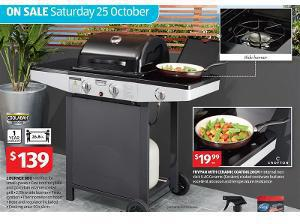 aldi coolabah 2 burner bbq 139 ozbargain. Black Bedroom Furniture Sets. Home Design Ideas