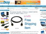 [ Sold Out ] $4.99 Delivered! HDMI Cable 2m 1080p v1.3b. PS3 Slimline Console Compatible.