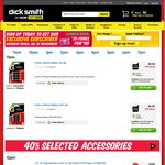 Dick Smith Hour of Power - $20 iTunes Card for $10, 1.5m HDMI Cable for $2.98, Fujitsu AA/AAA 4pk for $0.49