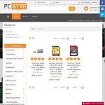 SanDisk 16GB Extreme SD $15.90, 128GB Ultra SD $84.90, Samsung EVO 64GB MicroSD $37.95 + Free Shipping @ PC Byte
