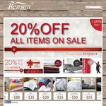 20% Off All Bed Linen Items Sale @BensonAustralia