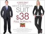 Rivers - Men's & Women's Suits $38 Starts 25/10/2009