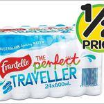 Frantelle 24x 600ml Bottled Water $5.50 @ Woolworths (18/11)