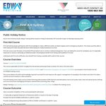 $49 Provide First Aid Course (HLTAID003) [SYDNEY & PARRAMATTA]