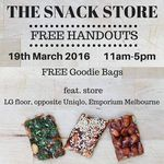FREE Goodie Bags from The Snack Store (Saturday 19 March) @Emporium Melbourne (11am - 5pm)