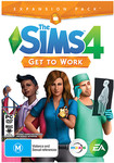 The Sims 4 Expansion Pack - Get To Work - PC - $29 at Target
