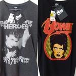 David Bowie T-Shirts $5 at Big W