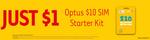 Optus $10 Starter Kit $1 @ 7-Eleven