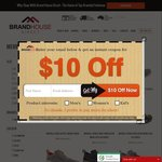 Merrell Mens & Womens Shoe Sale Selected Styles $69.95 + Postage With Coupon Applied @ Brand House Direct