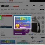 25% off Storewide House Click Frenzy
