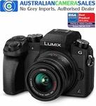 Panasonic Lumix G7 with 14-42mm Kit Lens & 25mm F1.7 Bonus Lens @ Auscamsales (eBay) $594