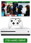 Xbox One S 2TB Console + 3 Games + 4K UHD Movie $449 @ EB Games