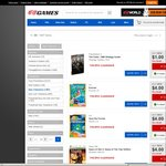 Games from $4 (FIFA 14, NBA 2K14, Battlefield 3, Battlefield 4, Max Payne 3, Anno 2070 Complete + More ) @ EB Games