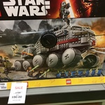LEGO Star Wars: Kylo Ren Shuttle $80; Clone Turbo Tank $90 @ Big W Grafton