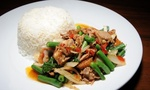 $6 Thai Curry or Stir Fry and Bottle of Water for Lunch or Dinner at JumboThai Haymarket Sydney (up to $13 Value)